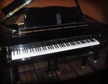 Young Chang Pianodisc player baby grand