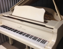White Young Chang Baby Grand