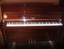 New Hardman Polished Mahogany Studio